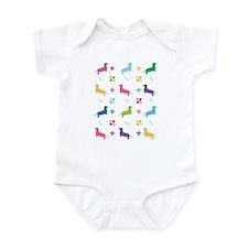 Dachshund Designer Infant Bodysuit
