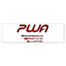 PWA Bumper Car Sticker