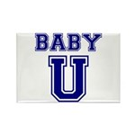 Baby U Rectangle Magnet (100 pack)