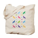 German Shepherd Designer Tote Bag