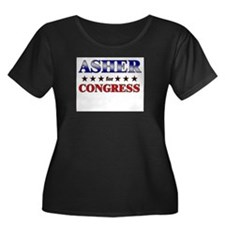ASHER for congress T