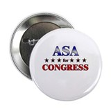 "ASA for congress 2.25"" Button"
