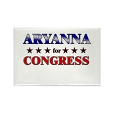 ARYANNA for congress Rectangle Magnet