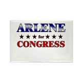 ARLENE for congress Rectangle Magnet