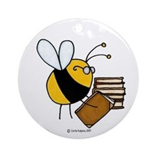 librarian/archivist/book seller Ornament (Round)