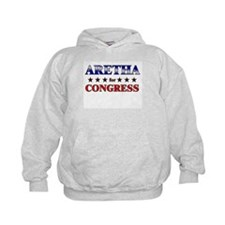 ARETHA for congress Hoodie