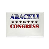 ARACELI for congress Rectangle Magnet