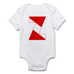 http://i1.cpcache.com/product/189254388/scuba_flag_letter_z_infant_bodysuit.jpg?color=CloudWhite&height=240&width=240