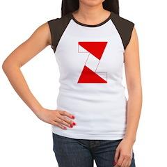 http://i1.cpcache.com/product/189254406/scuba_flag_letter_z_womens_cap_sleeve_tshirt.jpg?color=BlackWhite&height=240&width=240
