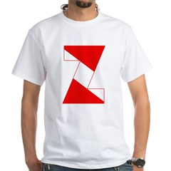 http://i1.cpcache.com/product/189254420/scuba_flag_letter_z_shirt.jpg?color=White&height=240&width=240