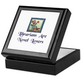 """Novel Lovers"" Keepsake Box"