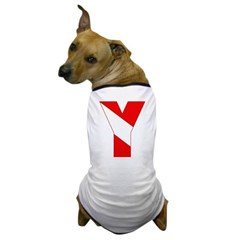 http://i1.cpcache.com/product/189257440/scuba_flag_letter_y_dog_tshirt.jpg?color=White&height=240&width=240