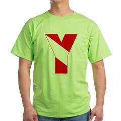 http://i1.cpcache.com/product/189257482/scuba_flag_letter_y_tshirt.jpg?color=Green&height=240&width=240