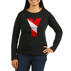 http://i1.cpcache.com/product/189257508/scuba_flag_letter_y_tshirt.jpg?color=Black&height=240&width=240
