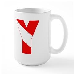 http://i1.cpcache.com/product/189257532/scuba_flag_letter_y_mug.jpg?height=240&width=240