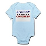 ANSLEY for congress Onesie