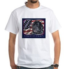 Newfoundland Patriotic USA Flag Shirt