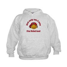 Not only am I cute I'm Trini too! Hoodie