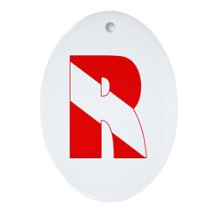 http://i1.cpcache.com/product/189266540/scuba_flag_letter_r_oval_ornament.jpg?height=240&width=240