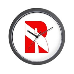 http://i1.cpcache.com/product/189266554/scuba_flag_letter_r_wall_clock.jpg?height=240&width=240