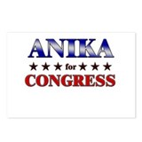 ANIKA for congress Postcards (Package of 8)