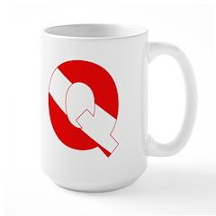 http://i1.cpcache.com/product/189268980/scuba_flag_letter_q_mug.jpg?height=240&width=240