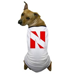 http://i1.cpcache.com/product/189272096/scuba_flag_letter_n_dog_tshirt.jpg?color=White&height=240&width=240