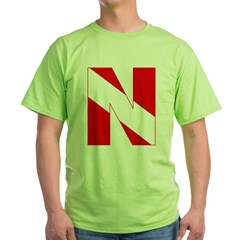 http://i1.cpcache.com/product/189272138/scuba_flag_letter_n_tshirt.jpg?color=Green&height=240&width=240