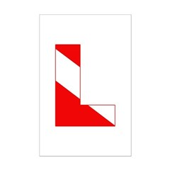http://i1.cpcache.com/product/189274612/scuba_flag_letter_l_posters.jpg?height=240&width=240