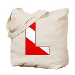 http://i1.cpcache.com/product/189274680/scuba_flag_letter_l_tote_bag.jpg?height=240&width=240