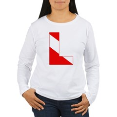 http://i1.cpcache.com/product/189274714/scuba_flag_letter_l_tshirt.jpg?color=White&height=240&width=240