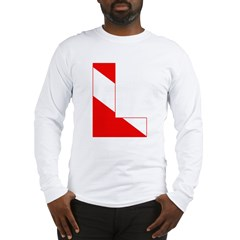 http://i1.cpcache.com/product/189274722/scuba_flag_letter_l_long_sleeve_tshirt.jpg?color=White&height=240&width=240
