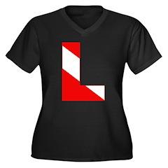 http://i1.cpcache.com/product/189274732/scuba_flag_letter_l_womens_plus_size_vneck_dark.jpg?color=Black&height=240&width=240