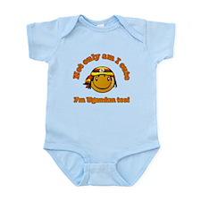 Not only am I cute I'm Ugandan too Infant Bodysuit