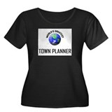 World's Greatest TOWN PLANNER Women's Plus Size Sc