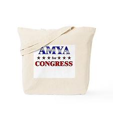 AMYA for congress Tote Bag