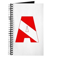 http://i1.cpcache.com/product/189285228/scuba_flag_letter_a_journal.jpg?height=240&width=240