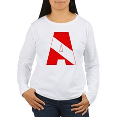 http://i1.cpcache.com/product/189285282/scuba_flag_letter_a_tshirt.jpg?color=White&height=240&width=240