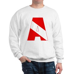 http://i1.cpcache.com/product/189285284/scuba_flag_letter_a_sweatshirt.jpg?color=White&height=240&width=240
