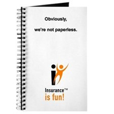 Insurance Is Fun Journal Not Paperless
