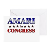 AMARI for congress Greeting Card