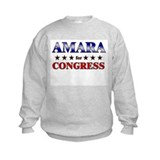 AMARA for congress Sweatshirt