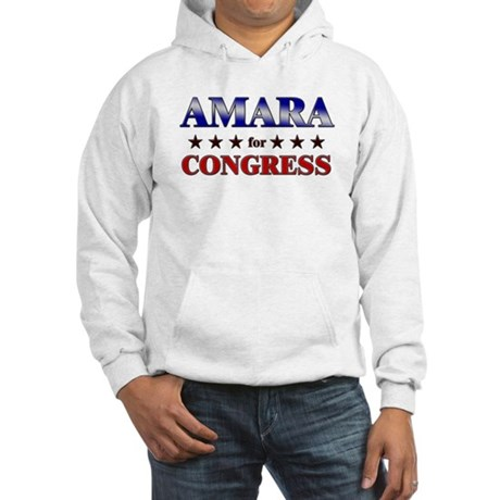 AMARA for congress Hooded Sweatshirt