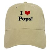 I Love Pops! Baseball Cap