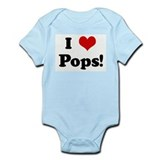 I Love Pops! Onesie