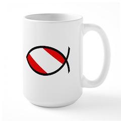 http://i1.cpcache.com/product/189297804/scuba_flag_ichthys_mug.jpg?height=240&width=240