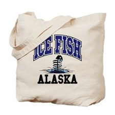 Ice Fish Alaska Tote Bag