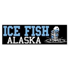 Ice Fish Alaska Bumper Bumper Sticker