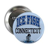 "Ice Fish Connecticut 2.25"" Button (100 pack)"