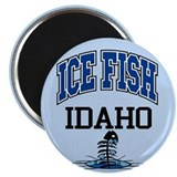 "Ice Fish Idaho 2.25"" Magnet (10 pack)"